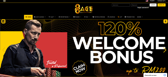 96ace Website