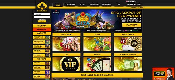 empire777 website
